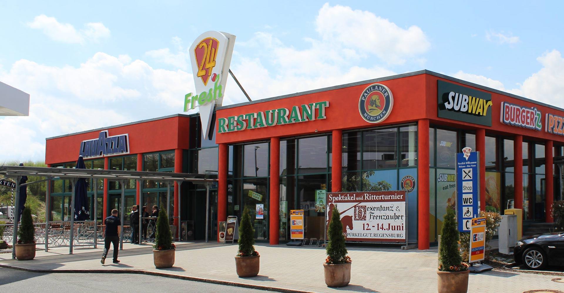 Restaurant Meilenstein Speisekarte