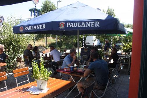 Paulaner Biergarten